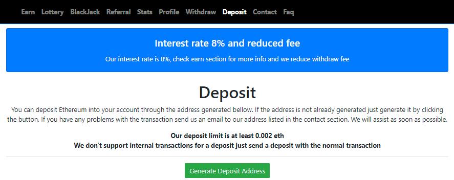 Вклады на free ethereum под проценты